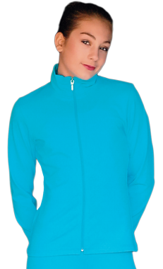JS735 ChloeNoel Elite Solid Fitted Jacket Bright Blue