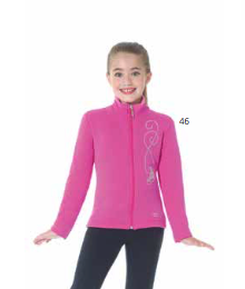MD24483 Mondor Crystal Polartec Jacket Pink