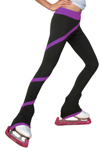P06 ChloeNoel Spiral Pants Purple
