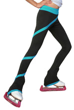 Load image into Gallery viewer, P06P ChloeNoel Polar Fleece Spiral Pants Turquoise