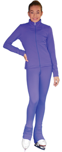 PS735 ChloeNoel Elite Solid Colour Pants Periwinkle