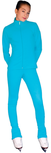 PS735 ChloeNoel Elite Solid Colour Pants Bright Blue