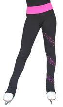 Load image into Gallery viewer, PS96X ChloeNoel Crystal Colour Pants Fuchsia