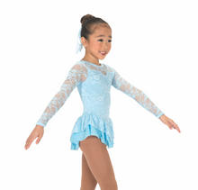 Load image into Gallery viewer, J175/16 Lace Palace Pastel Blue Dress - Child 10-12