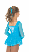 Load image into Gallery viewer, J196/16 Gathering Glimmer Sky Blue Dress