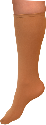 ChloeNoel Boot Socks Tan