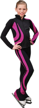 Load image into Gallery viewer, P26 ChloeNoel Swirl Pants Fuchsia