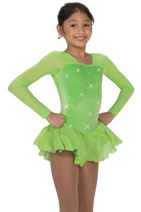 J172/16 Lime All the Time Dress - Child 6-8