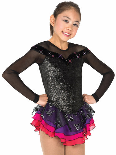 J27/15 Bow Jewelled Dress - Child 12-14