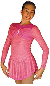 ChloeNoel DLS788 Pink Dress - Child Extra Large/Adult Extra Small