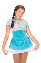 Load image into Gallery viewer, J60/15 Elsa's Song Dress - Child 12-14