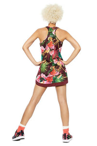 Desigual -  Tropic Racerback Top with Hip Cutout