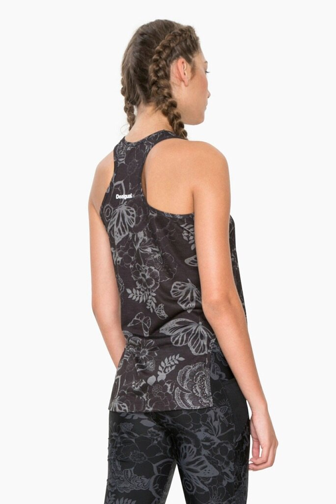 Desigual - Exorbidance Racerback Top with Hip Cutout