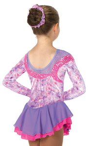J057/17 Twice the Twizzle Dress - Child 8-10