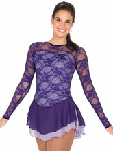 Load image into Gallery viewer, J79/15 Lace Over Lavender Dress