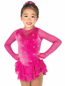 J54/15 Pink Diamond Dress - Child 12-14
