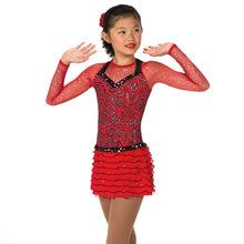 Load image into Gallery viewer, J049/17 Razzy Red Dress - Child 12-14