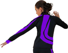 Load image into Gallery viewer, J26 ChloeNoel Swirl Jacket Purple