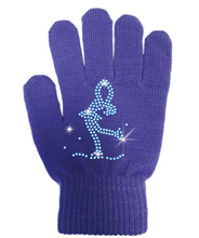 Load image into Gallery viewer, ChloeNoel Crystal Layback Skater Gloves
