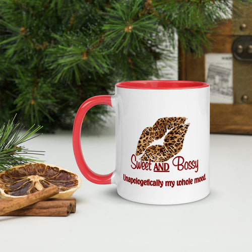 Cranberry Sweet AND Bossy Mug