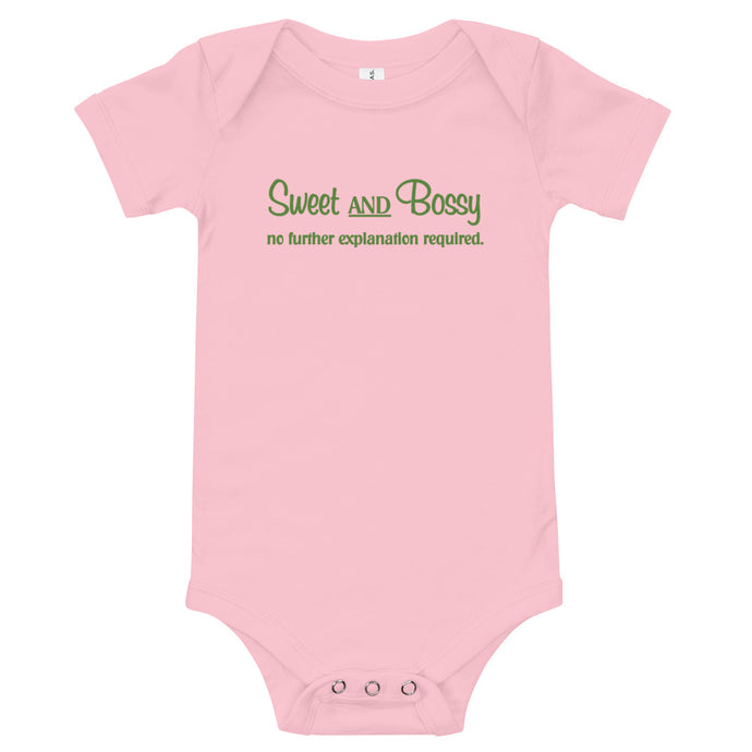 Infant Petal Pink Bodysuit