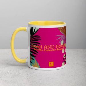Sweet AND Bossy Logo Mug Island Vibes