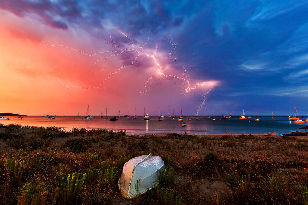 Custom print by Andrew Semark Dunsborough Storms