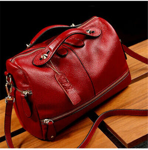 Red Tote Purse