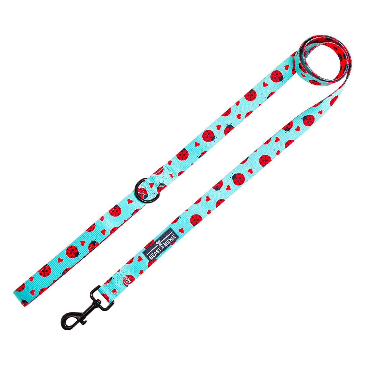 Ladybug Dog Leash