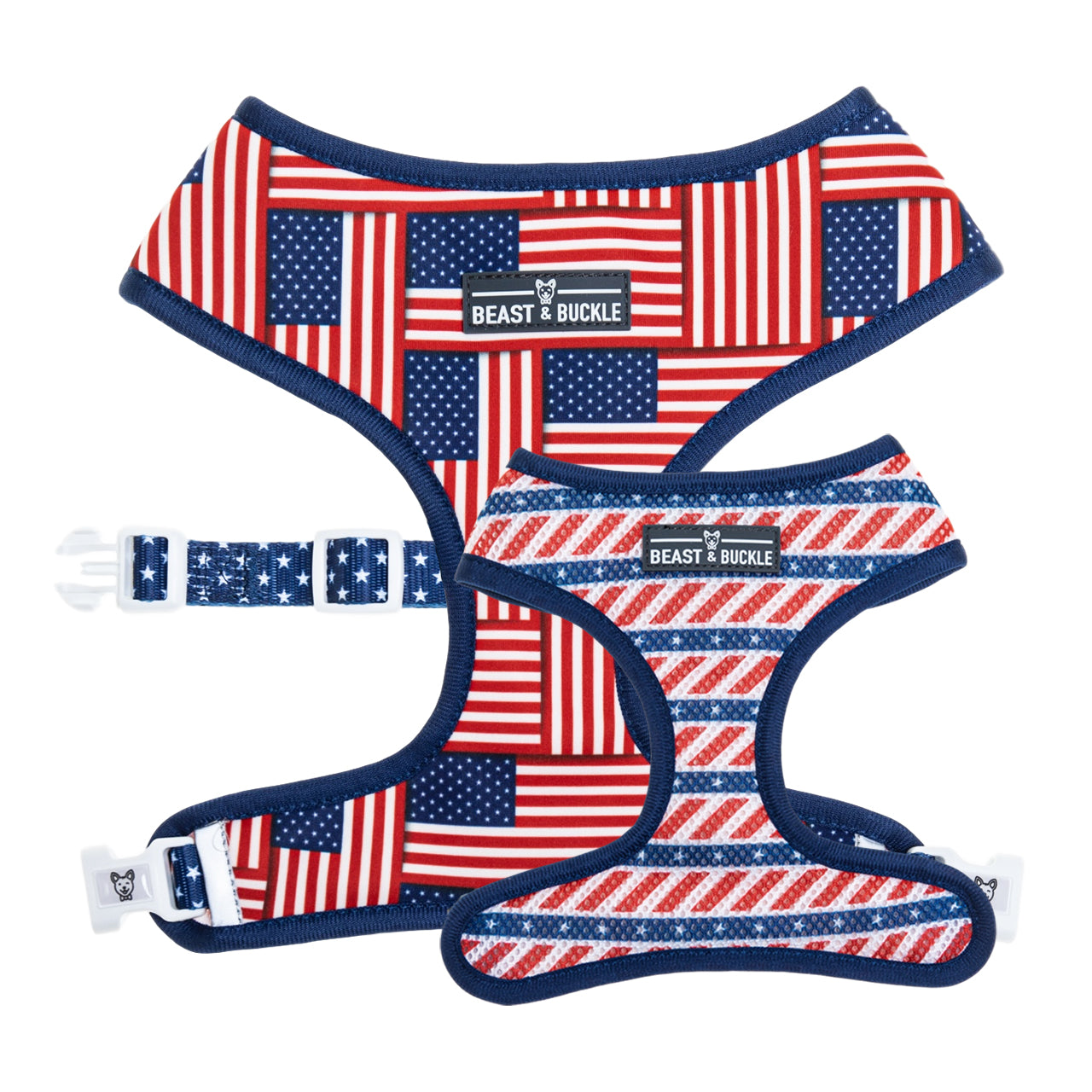 USA Reversible Dog Harness