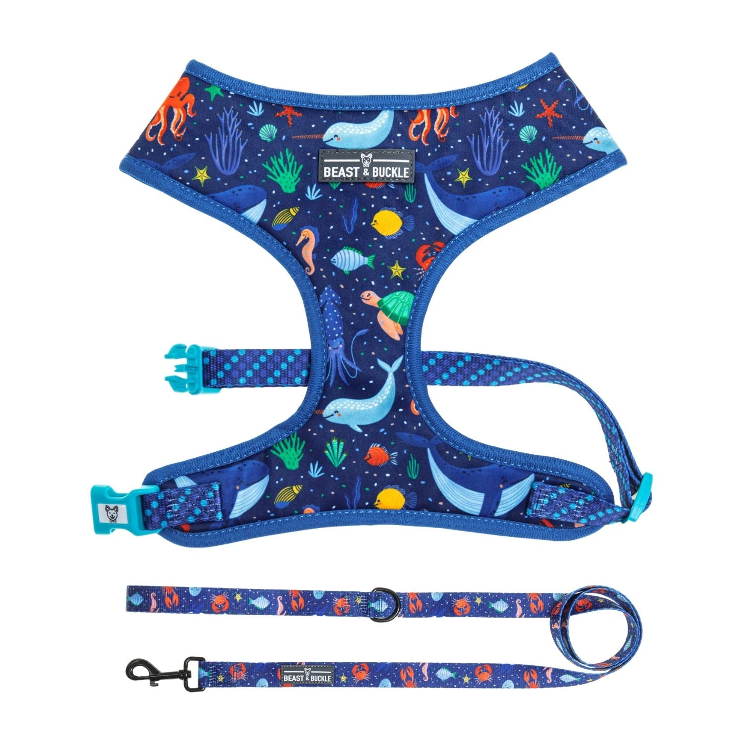 Under the Sea Classic Harness & Leash Set