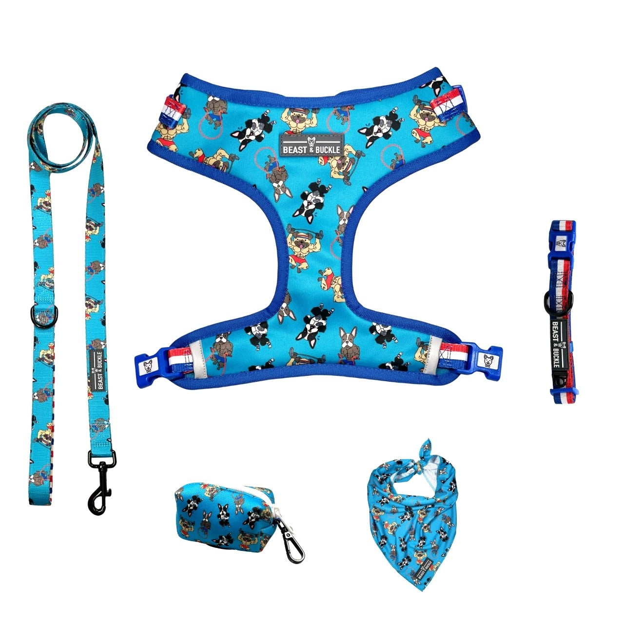 Workout Adjustable Harness Collection Bundle