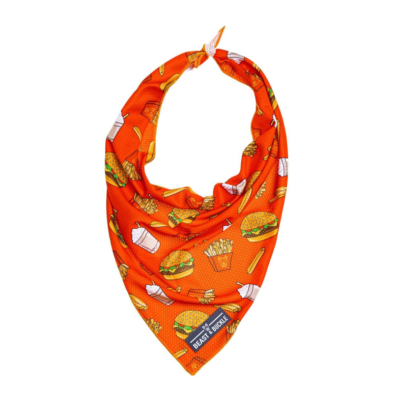 Burgers 'n' Fries Cooling Bandana - Beast & Buckle