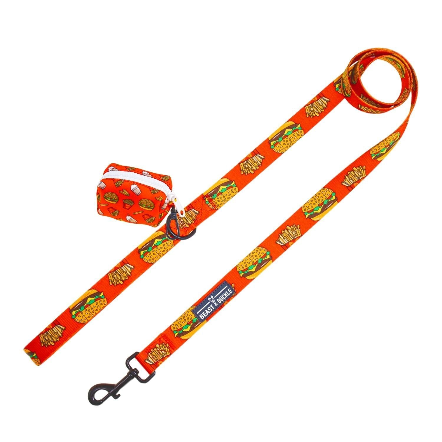 Burgers 'n' Fries Leash Set - Beast & Buckle