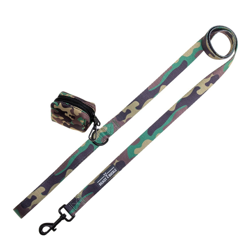 Camo Leash Set - Beast & Buckle