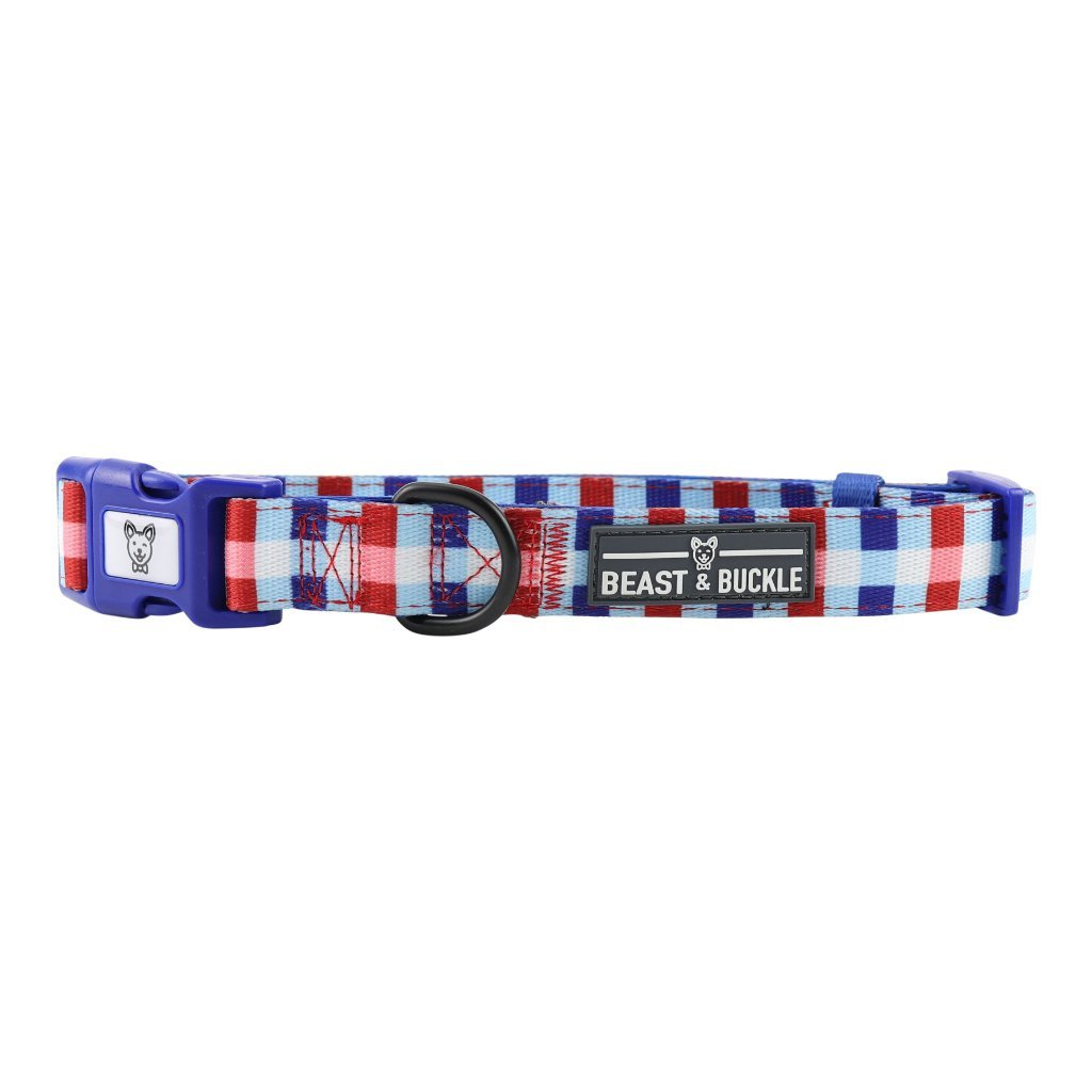 Checkmate Dog Collar - Beast & Buckle
