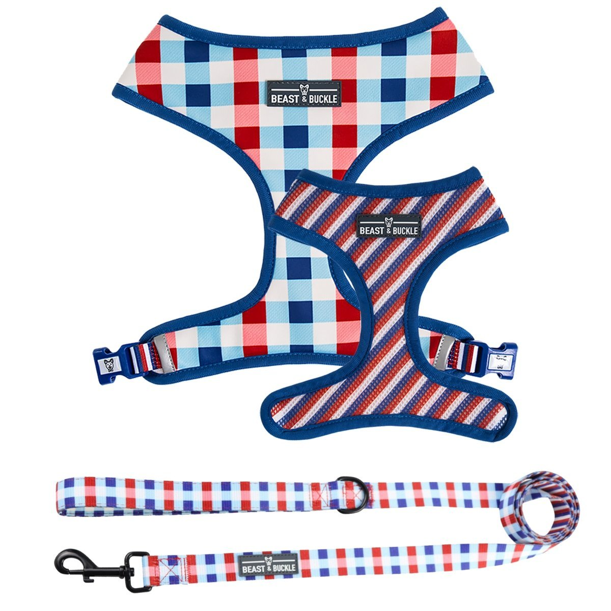 Checkmate Harness and Leash Set - Beast & Buckle
