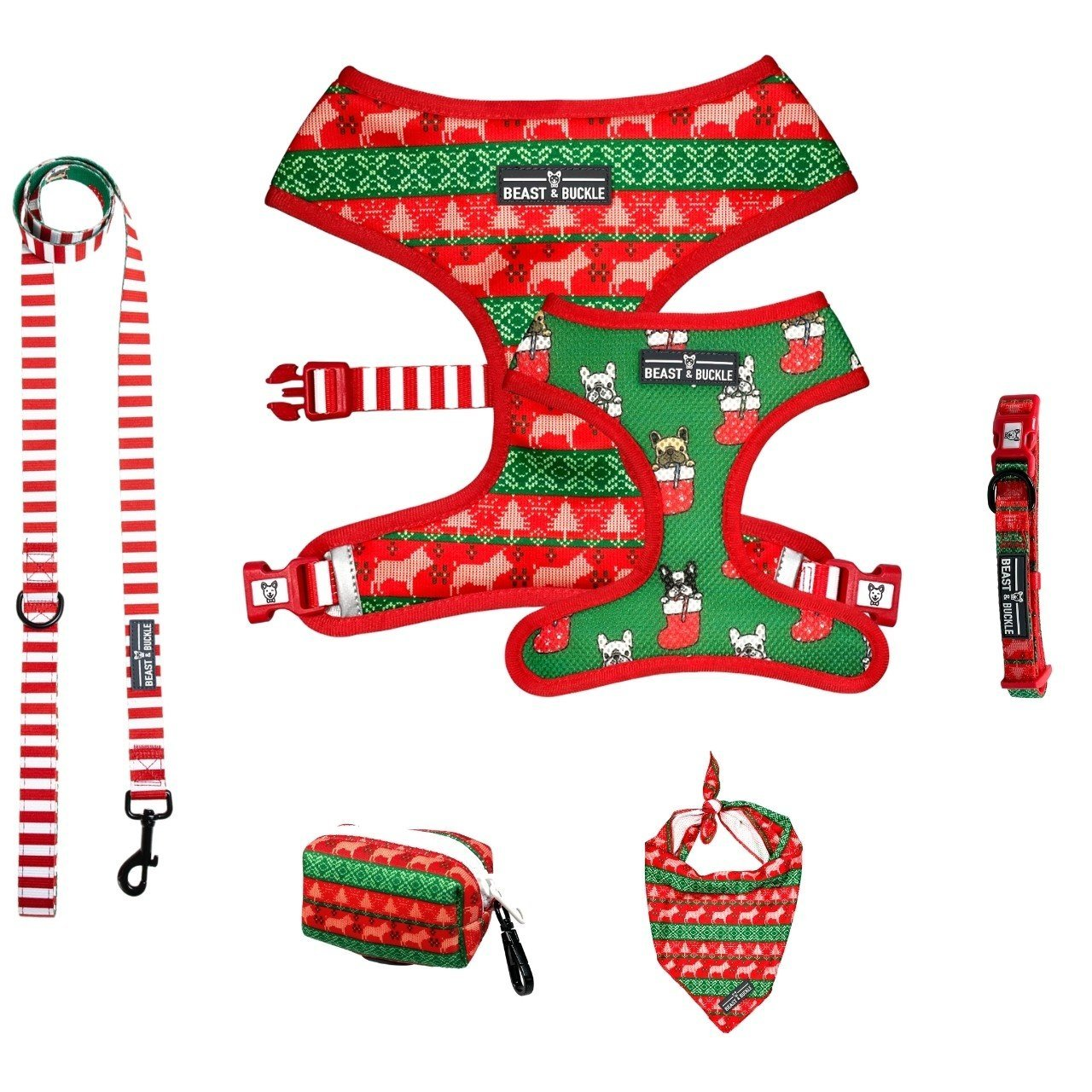 Christmas Harness Collection Bundle - Beast & Buckle