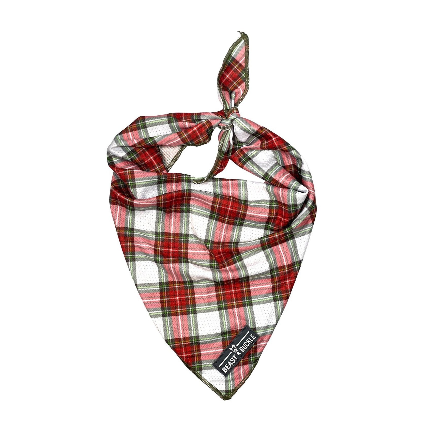 Christmas Plaid Cooling Bandana - Beast & Buckle