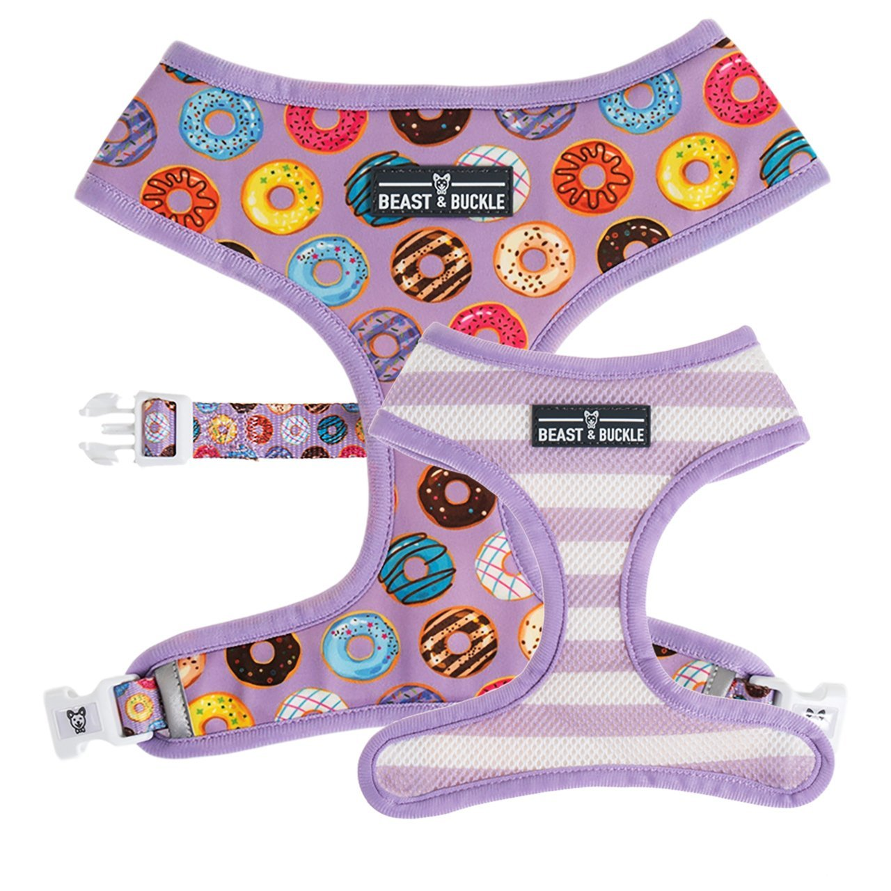 Donuts! Reversible Dog Harness - Beast & Buckle