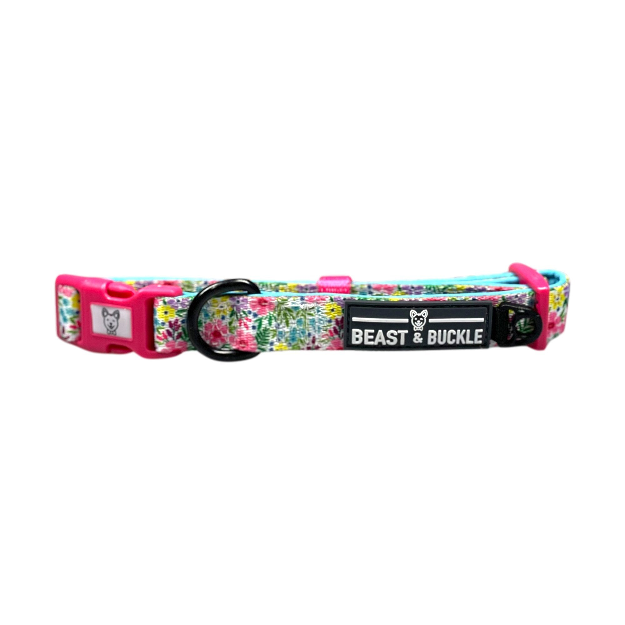 Floral Dog Collar - Beast & Buckle