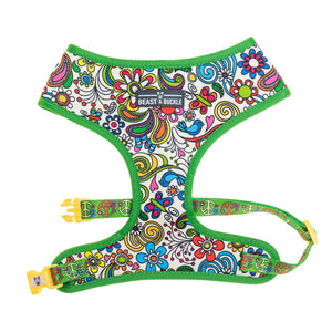 Flower Power Classic Dog Harness