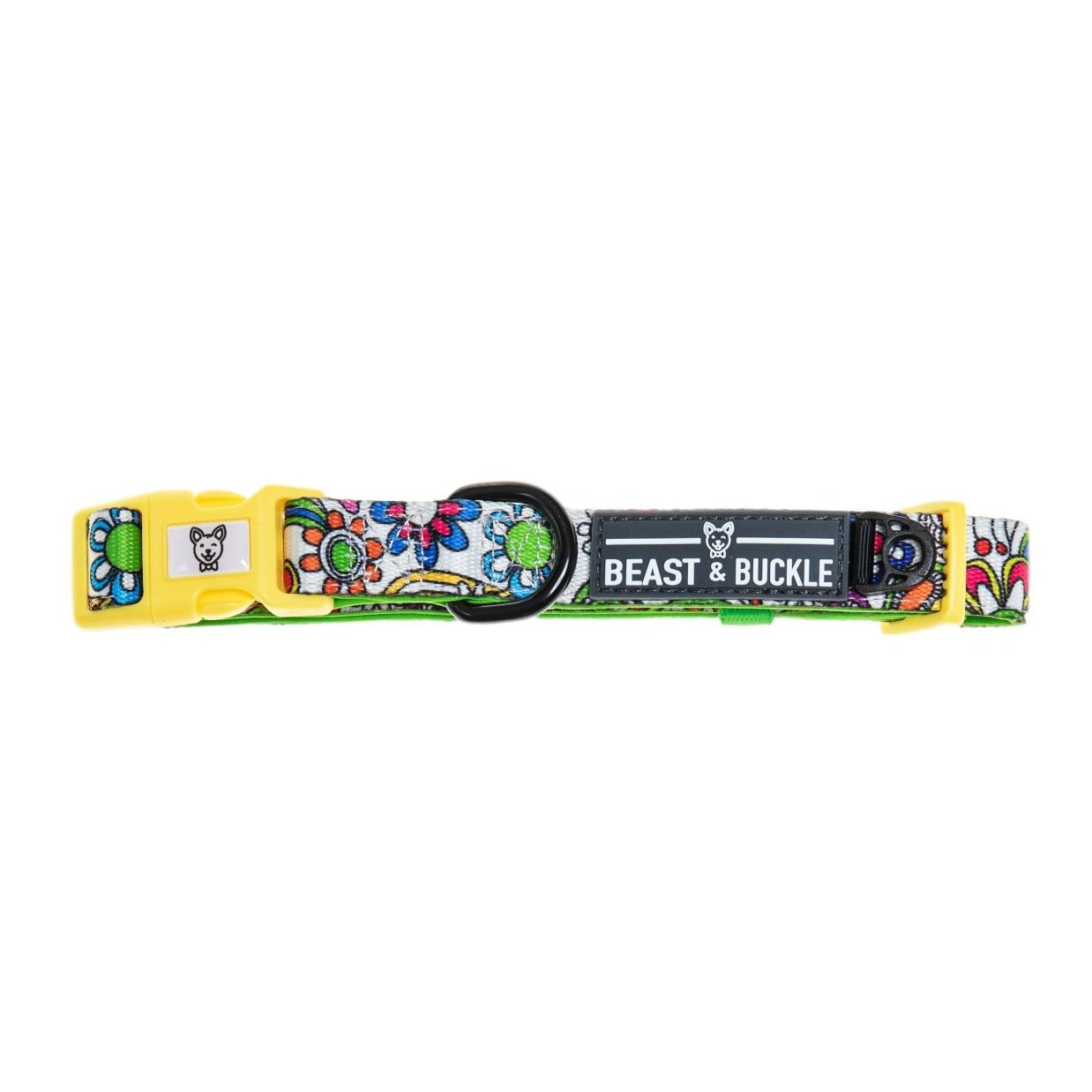 Flower Power Dog Collar - Beast & Buckle