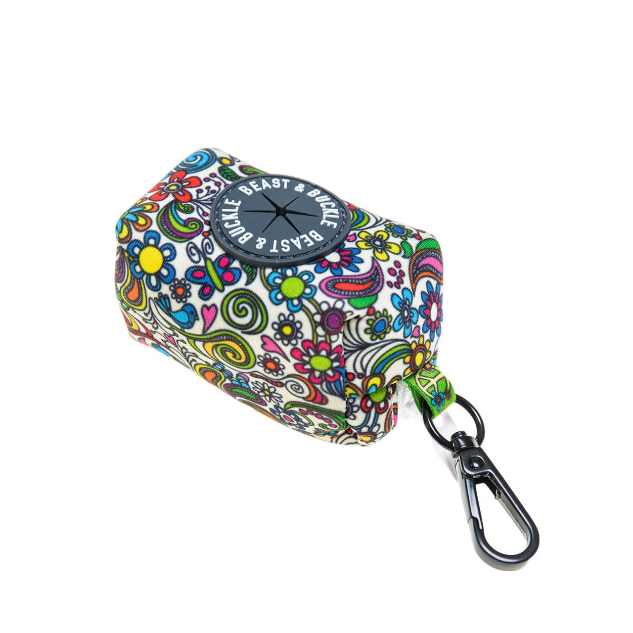 Flower Power Poop Bag Holder - Beast & Buckle