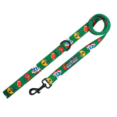 Football Designer Dog Leash - Beast & Buckle