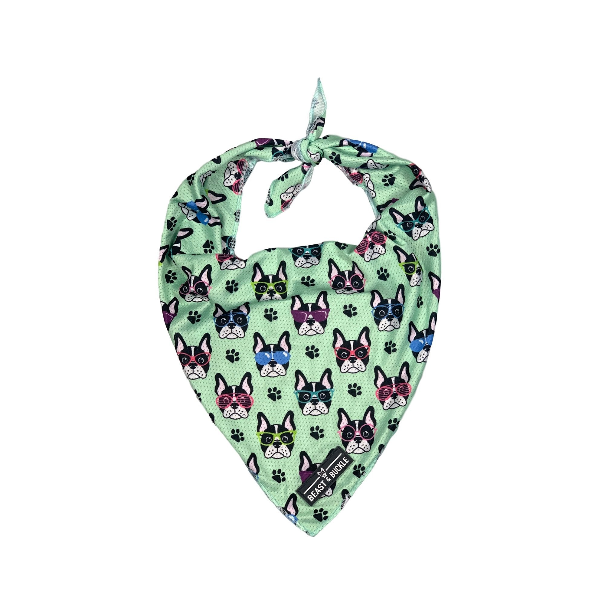 French Bulldog Village Cooling Bandana - Beast & Buckle