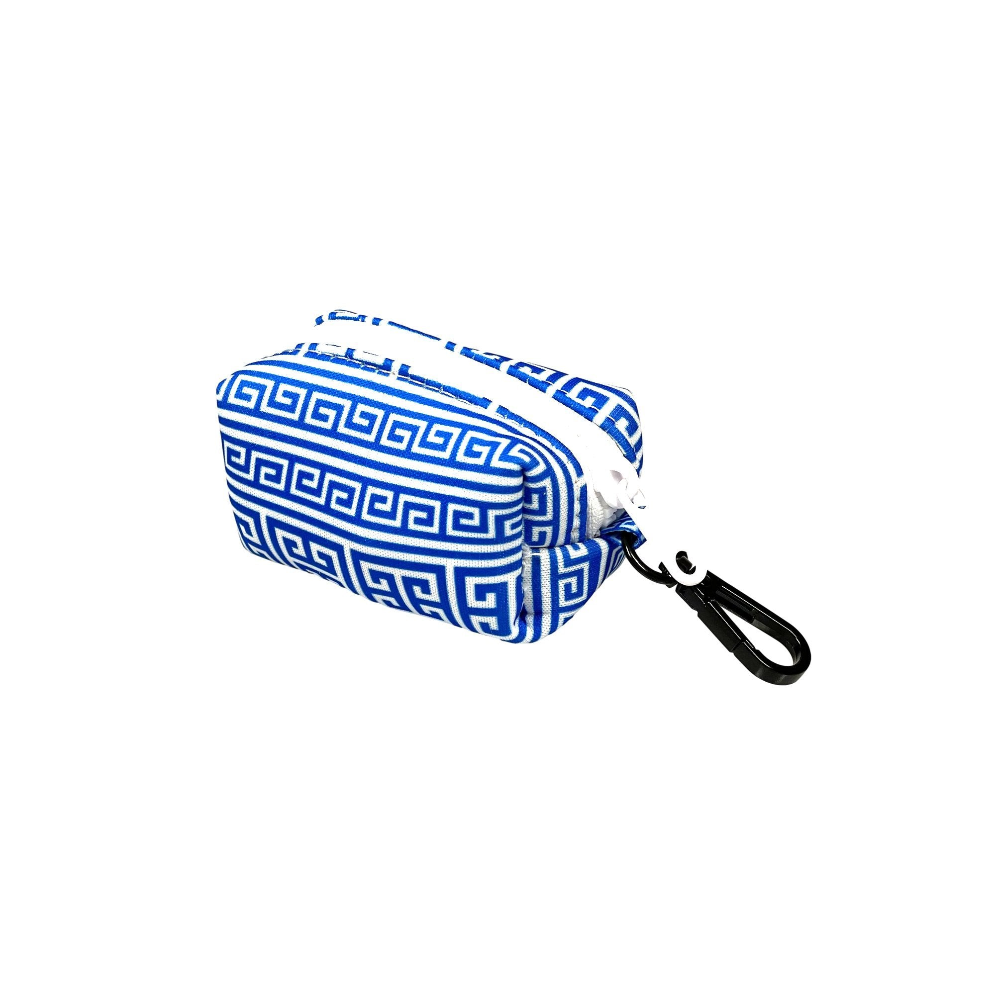 Greek Key Poop Bag Holder - Beast & Buckle