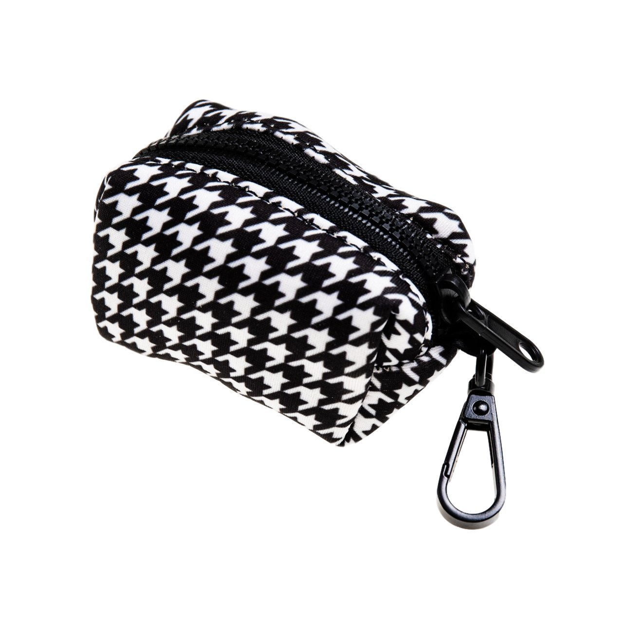 Houndstooth Poop Bag Holder - Beast & Buckle