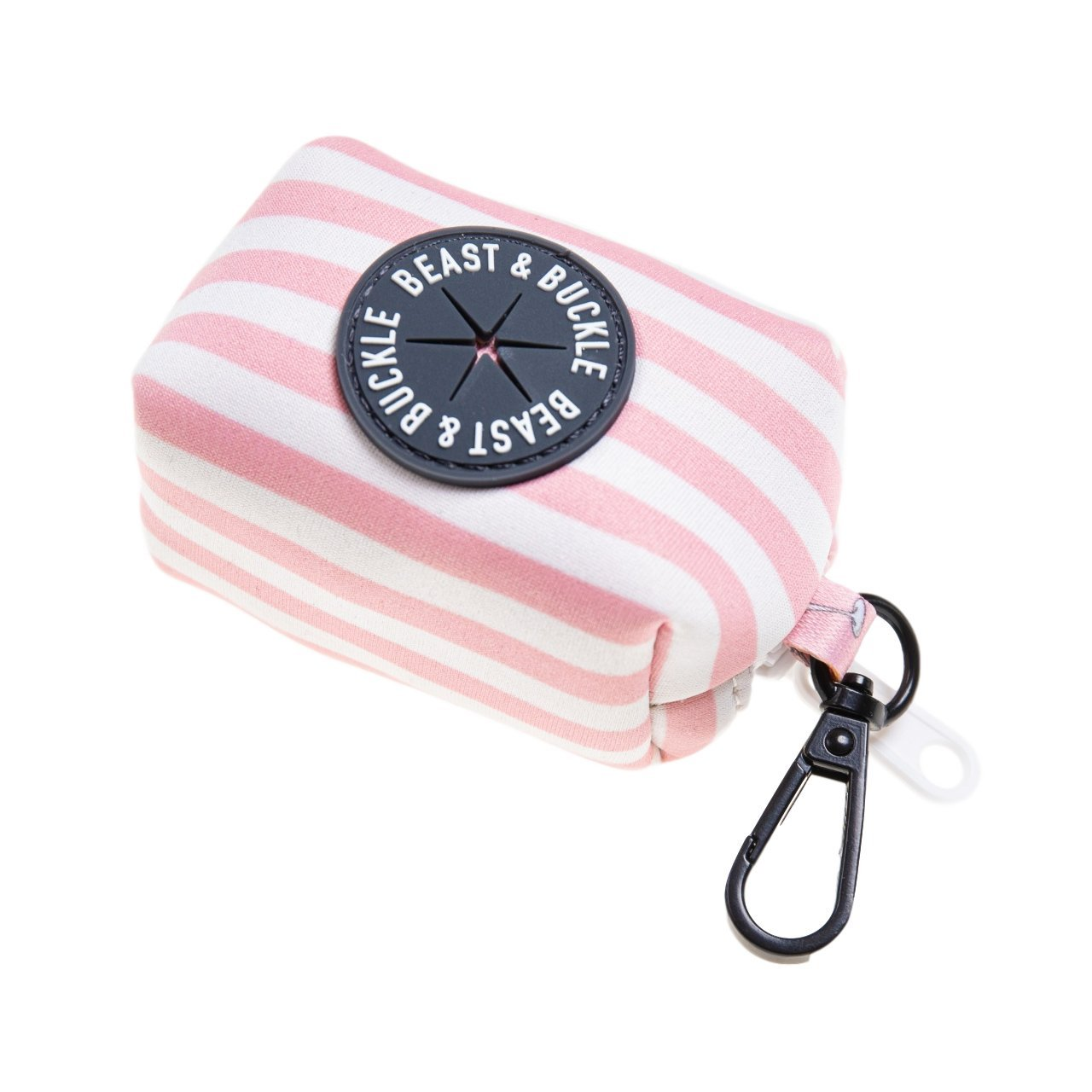 Mimosa Stripe Poop Bag Holder - Beast & Buckle