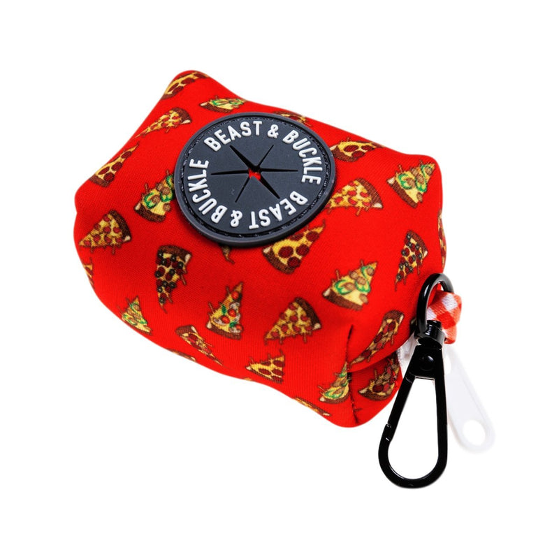 Pizza Poop Bag Holder - Beast & Buckle